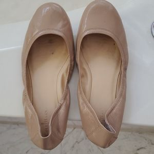Cole Haan patent leather ballet flats